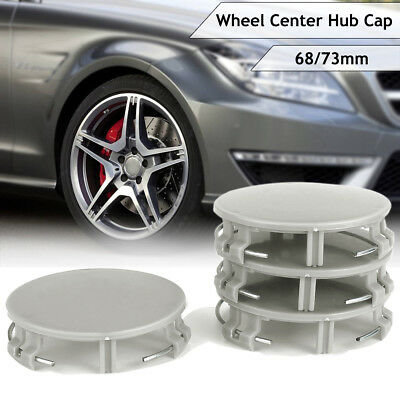 4pcs 73mm/ 68mm 3 PIN Car Wheel Center Hub Cap Cover For Mercedes 17140001259040