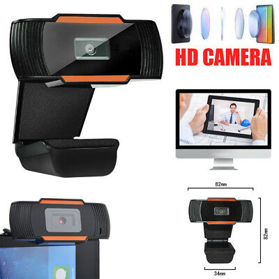 HD 12 MP USB2.0 1080P Webcam Camera with MIC Clip-on for Computer PC Laptop UK