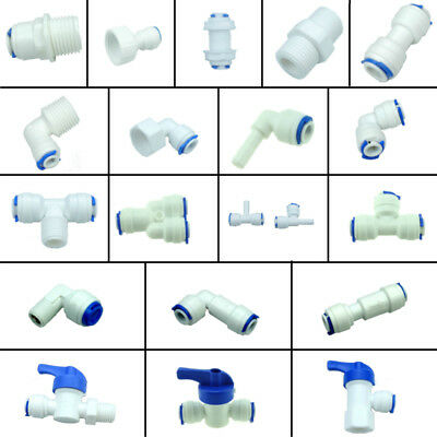 Water Filters / RO System Parts  Valve, Elbow , Tee ,Y, Male, Female Fitting