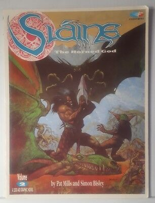Slaine The Horned God Volume 2 Fleetway TPB Graphic Novel