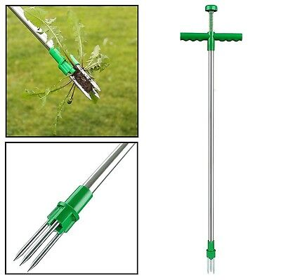 Weed Puller Weeder Twister Twist Pull Garden Lawn Root Remover Killer Tool
