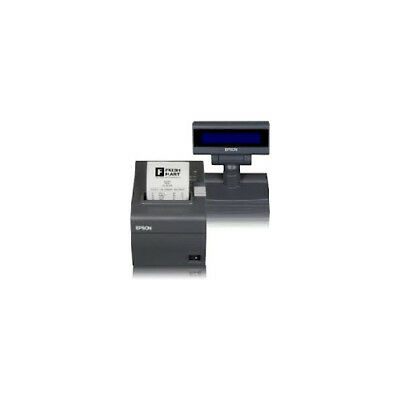 EPSON Stampante Fp81Ii Lcd Edg 80Mm Ethernet Tastiera 23 Cutter Alimentatore Inf