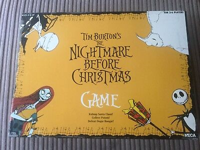 The Nightmare Before Christmas Board Game Neca