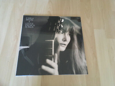 Carla Bruni Little French Songs Lp Vinyl New Sealed