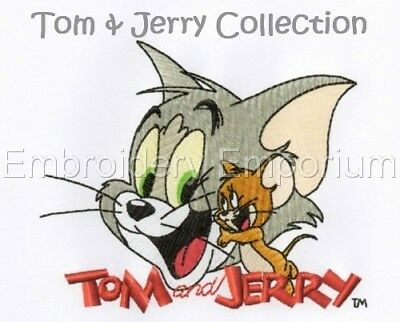 Tom & Jerry Collection - Machine Embroidery Designs On Cd