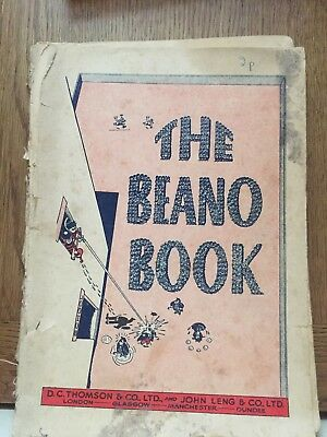 THE BEANO BOOK vintage comic annual