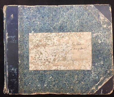 1838-39 Royal Navy Mediterranean Sketchbook - Hunting with the Duke of Cambridge