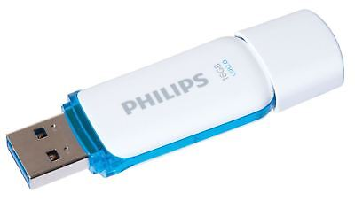 Genuine Philips 16GB Blue Snow Edition USB 2.0 Memory Stick Flash Pen Drive