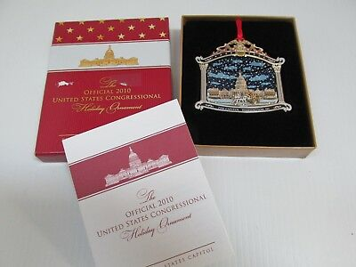 The Official 2010 United States Congressional Holiday Ornament  U.S. Capital