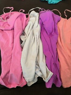 4 Cherokee Brand Camis Girls Size 10-12 Good Used Condition