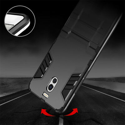 For Meizu ME3 ME2 M5 M6 Note/M15 Plus Shockproof Kickstand Armor Hard Case Cover