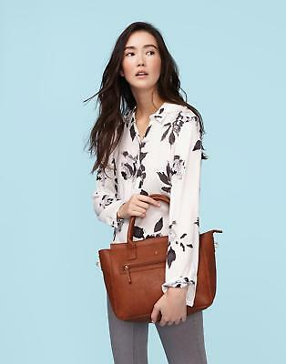 Joules Day To Day Bright Pu Shoulder Bag in TAN in One Size