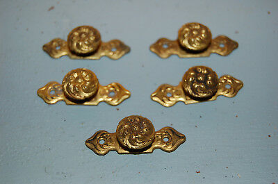 ANTIQUE SMALL HANDLE DRAWER, DOOR BRASS - elements architecture X 5