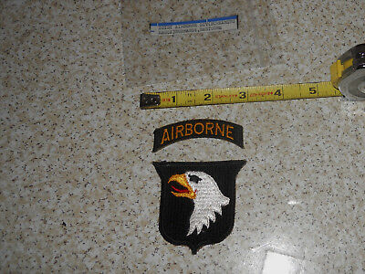 101st Airborne Division US Military Vintage Units of WWII Military Patch