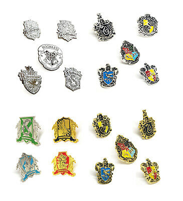 Harry Potter Hogwart Houses High Quality Metal Enamel Pin Badge Collectable Gift