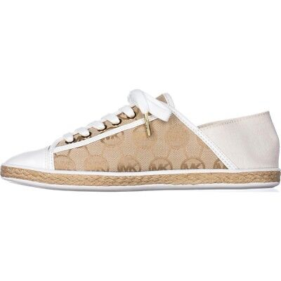 fa582d304141 MICHAEL Michael Kors Womens Kristy Slide Leather Low Top Lace Up Fashion  Snea.