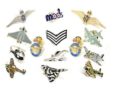 All Things RAF Military WWII Various High Quality Metal Enamel Pin Badges GiftUK