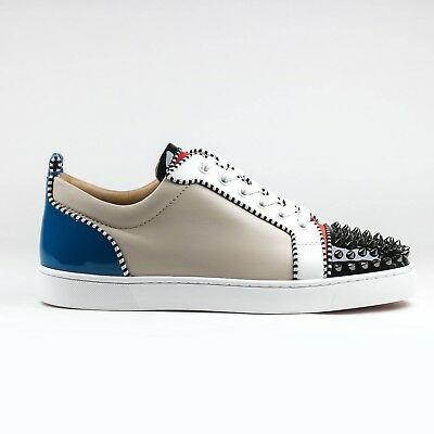 c9e1859fc6c 100% AUTHENTIC CHRISTIAN Louboutin Louis Junior Spikes Multicolor ...