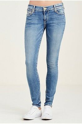 True Religion Women's Casey Super T Skinny Brand Jeans - WC012CAHS Size 24, 25