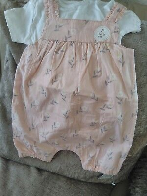 MOTHERCARE 2 piece set Baby Girls 3-6 Months  New