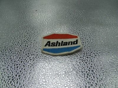 "Ashland Gasoline Patch Embroidered Oil 2-7/8"" inches Vintage"