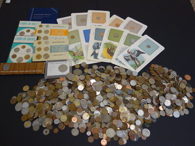 Excellent Worldwide Coin Lot Approx. 11.5 Pounds, Sets, Etc.