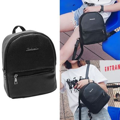 703593681a Women Stylish Mini Small PU Leather Backpack Casual Daypack School Shoulder  Bag