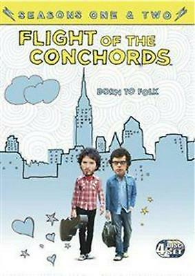 Flight of the Conchords: Seasons 1 and 2 - DVD Region 2 Free Shipping!