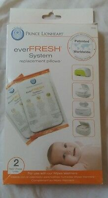 New in Package Prince Lionheart Wipe Warmer Pads replacement pillows
