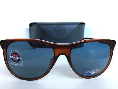 8f1e7cce61c New Polarized VUARNET VL 1520 0004 BLUE POLAR Brown Sunglasses France