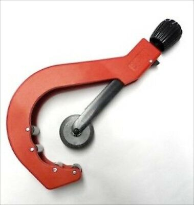 "Large Ratcheting Quick Release 4"" Pipe and Tubing Cutter Tube"