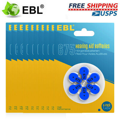 5x EBL LR41 Coin Button Cell Batteries Pack 1.5V AG3 192 392 Alkaline Battery