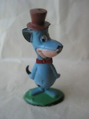Vintage Huckleberry Hound Small Painted Plastic Figurine Toy