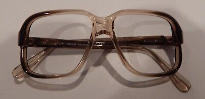 Vintage Big Sur Brown Fade 52/14 Men's Made in USA Eyeglass Frame New Old Stock