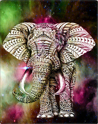 DIY 5D Diamond Painting Crystal Rhinestone Embroidery Pictures Arts Elephant