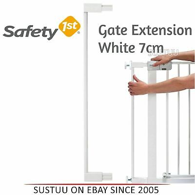 Safety 1st Pressure Fit Gate Extension│Kid's Safety Extension Door Kit│7cm│White