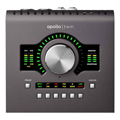 Universal Audio Apollo Twin MkII Quad Thunderbolt Interface