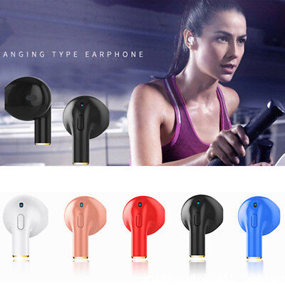 HIFI 3D Mini Wireless Bluetooth Earphone Headset Sport Earbud For iPhone Samsung