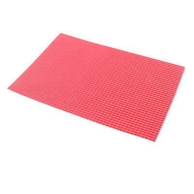 200x300mm Architecture Model Material PVC Tile Roof Sheet Plastic Scale 1/50