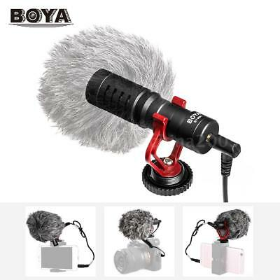 BOYA BY-MM1 Microphone Metal Electret Condensor for Smartphone Canon Nikon DSLR