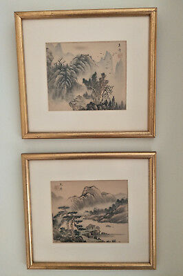 A Pair Nice Chinese Traditinal Brush Painting
