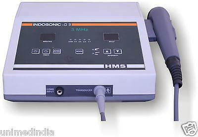 Joint Muscle Back Body Pain Stiffness Relief Ultrasound Therapy 3MHz Machine