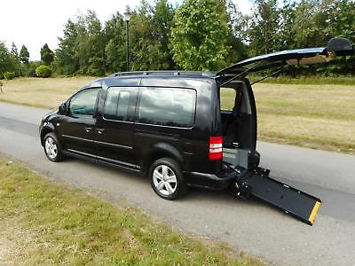 2012 Volkswagen Caddy Maxi Life 1.6 Tdi WHEELCHAIR ACCESSIBLE ADAPTED VEHICLE