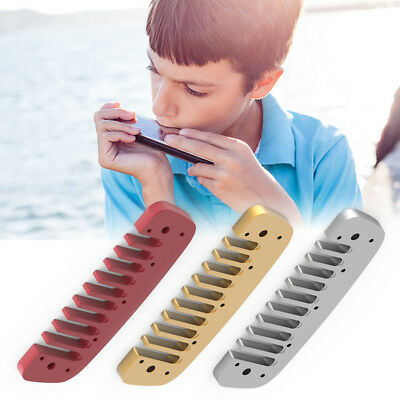 Metal Blues Harmonica Comb Replacement for Hohner Golden Melody Silver Red Gold