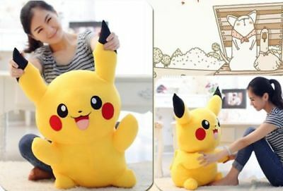 Cute Giant Pikachu Plush Toys Big Pokemon Go Stuffed Soft Doll Kid Gift 8''-31''