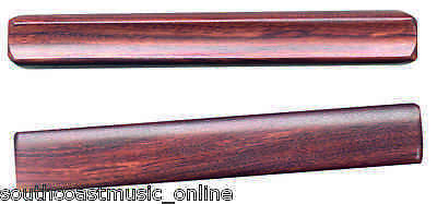 """Ed206 Claves 7.25"""" Inch Rosewood Wooden Percussion"""