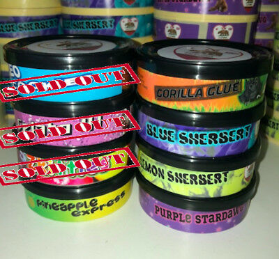 Cali Weed Tins *CHEAPEST* self-seal Tins Ring Pull WITH LIDS & Stickers included