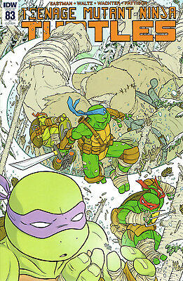 Tmnt Ongoing #83 1:10 Incentive Variant Cover