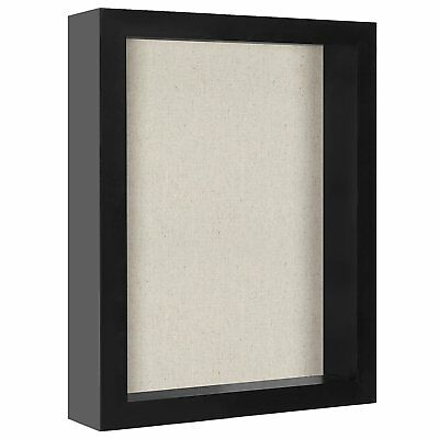 8x10 Inch Shadow Box Frame with Soft Linen Back