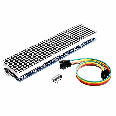 Dot Matrix Module MAX7219 Arduino Microcontroller 8x8 LED Display With 5P Line